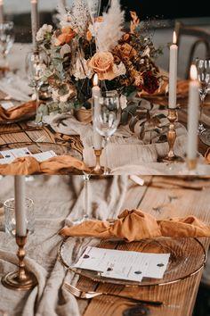 Wedding Bells, Boho Wedding, Wedding Table, Wedding Engagement, Fall Wedding Decorations, Wedding Centerpieces, Industrial Wedding Decor, Burnt Orange Weddings, Boho Vintage