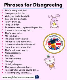Phrases for Disagreeing in English – English Grammar Here – Learn english Essay Writing Skills, English Writing Skills, Book Writing Tips, Writing Words, English Lessons, French Lessons, Spanish Lessons, Teaching Spanish, Writing Poetry