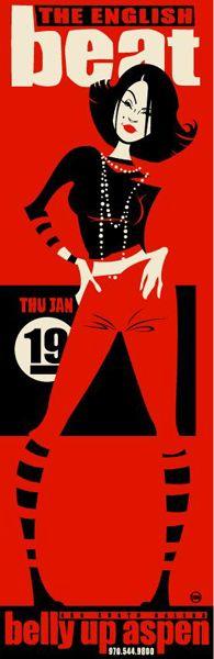 Poster: English Beat