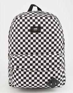 a597c6a11623 VANS Old Skool II Black   White Checkerboard Backpack Vans Old Skool