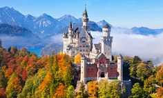 Neuschwanstein Castle In Germany - truly out of a fairy tale!