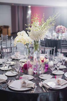 Wedding Centerpiece  - Melvin Gilbert Photography