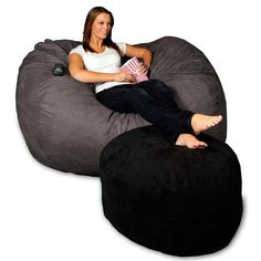Lovesac's   I have these in our kids lounge room. They are the best. The while fam loves them. Kirsti