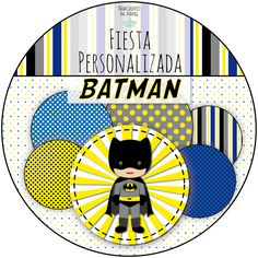 kit imprimible personalizado BATMAN