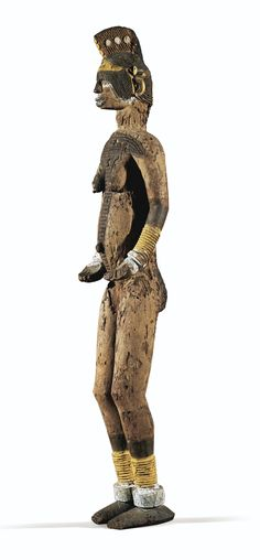 Igbo statue (ikenga) from the Collection of Jacques Blanckaert, Bruxelles