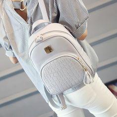 Fashion Women Backpacks Casual Bags School Bags B11. Small Backpacks For  GirlsLeather School BagBackpack ... 8f3be6175ffa8
