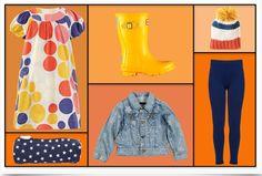 Orange Kid Clothes