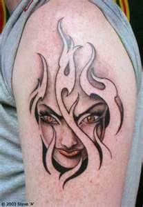 Tattoos On Flames *****