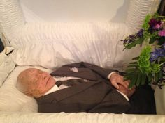 31 Photos from Celebrity Open Casket Funerals ~ MICKEY ROONEY, 2014, Age 94