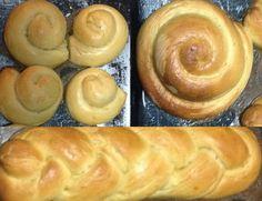 En Venezuela es típico el Pan Dulce, es un pan de masa dulce cubierto de azúcar, lo más parecido que he encontrado en Costa Rica son unas R...