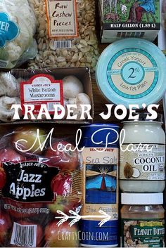 Trying to eat healthy on a budget? Check out this Trader Joe's meal plan.