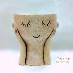 Bowls – Ceramic bowl, Planter, Pottery , Made to order – a unique product by DobrCeramics on DaWanda