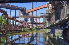 Industrie-Ästhetik in der Kokerei der Zeche Zollverein in Essen ©Matthias Duschner