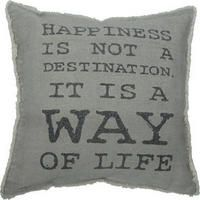 The Happiness Toss Cushion from Urban Barn is a unique home décor item. Urban Barn carries a variety of New Accents and other products furnishings. Dining Room Storage, Dining Room Bar, Dream House Pictures, Wall Behind Bed, Urban Barn, Modern Pendant Light, Great Words, Interior Decorating, Interior Design