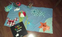 tapis de lecture la mer homemade Diy Bebe, Creations, Album, Crafty, Short Stories, Games, Playground Mats, Readers Workshop, Card Book