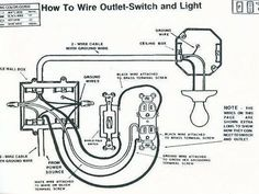 wiring a light switch to multiple lights and plug Google Search