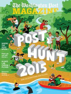 Illustration Roundup: June 2015 on Behance