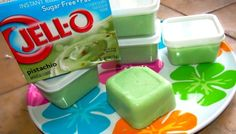I love icecream....but hadn't thought about making jello sugar-free pudding with almond milk & freezing it!!! (& in small containers to make it easy on the go or for just portion control!!!)