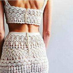 Hand Crochet, Crochet Baby, Crochet Bikini, Crochet Top, Crochet Skirts, Crochet Clothes, Crochet Stitches Chart, Crochet Summer Tops, Crochet Wedding