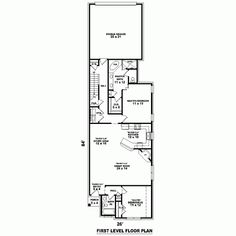 House Plan 47104 Level One