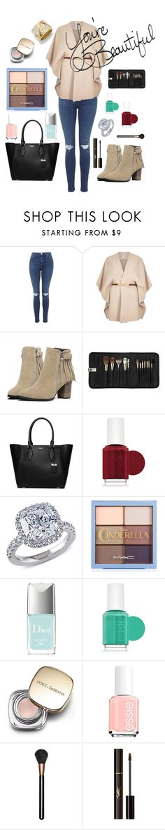 """""""Untitled #116"""" by sweetangel29 ❤ liked on Polyvore featuring River Island, Sephora Collection, Michael Kors, Essie, Miadora, Christian Dior, Dolce&Gabbana, LIST, MAC Cosmetics and Yves Saint Laurent"""