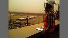 Rooftop of new Airport terminal in Abuja
