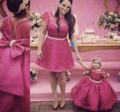 vestido de festa mae e filha - Pesquisa Google