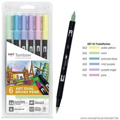 tombow-dual-brush-pen-abt-6c-2-pastellfarben-neu