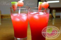 Watermelon Juice Recipe www.pingdesserts.com/watermelon-juice-recipe/