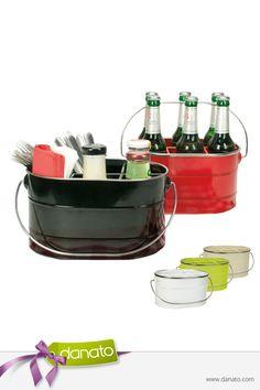 Der retro-moderne Sechserträger für Sommernächte, Grillpartys und Luxus-Picknicks #danato #grillen #retro