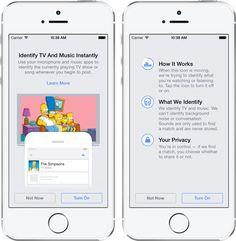 Facebook ahora te dirá que música, películas y programas de tv que escuchas o ves.