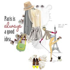 """""""Spring in Paris"""" by ladysnape on Polyvore"""