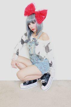 So cute Japanese street fashion