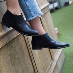 3dcd3b25d1e4a Black ankle boots for women Astrud Black - Handmade in Spain by Beatnik  Shoes - Free