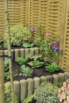 Fence Stakes used for landscaping #landscaping http://www.jacksons-fencing.co.uk/fencing/agricultural-fencing/fence-stakes/agricultural-fencing-fence-stakes.aspx?agid=597 #small #garden #ideas