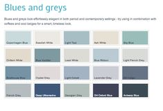 Dulux 'heritage' colours Light Teal or Georgian Grey
