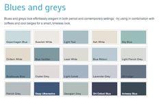 Blue Grey Paint Dulux