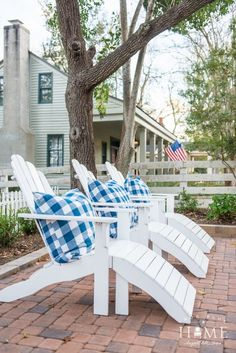 More True Blue Cottage - Holly Mathis Interiors