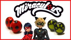 "How to make Ladybug earrings? Tutorial of Ladybug and Chat noir earrings from ""Miraculous: Tales of Ladybug & Cat Noir"""