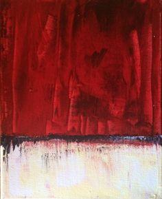 "'anxiety' by Brandi Hamilton | $100 | 8""W x 11""H x 0.5""D | Original Art | http://vng.io/l/53Qkt8k0CJ @VangoArt"