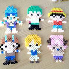 One Piece perler beads by jiar_feltingrepublic