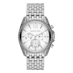 Ladies Silver Pressley Watch - Michael Kors watches - Private sales | BrandAlley