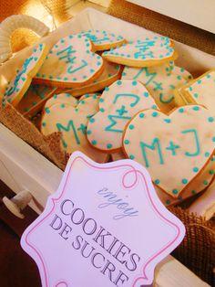 Cookies decoradas en Shine a light Table de Süss Pastelería