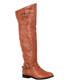 Look at this #zulilyfind! Reneeze Camel Liz Boot by Reneeze #zulilyfinds