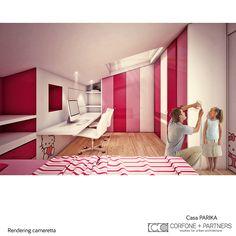 CORFONE+PARTNERS - Interior design Bedroom - PARIKA HOUSE