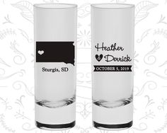 South Dakota Shooters, South Dakota Wedding, Shooter Glasses, Destination Shooters, State Shooters, Custom Shooters (140)
