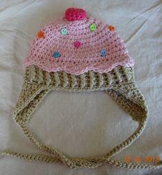 Crochet Baby Girl Cupcake Hat by BettyBoopCrochet on Etsy