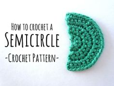 A crochet semicircle can be used for many things, Amigurumis, accessoires and different clothes. For Amigurumis you can use semicircles ... Read more...