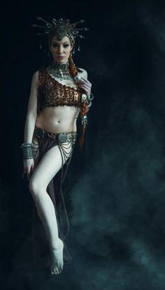 Tribal Fusion , Photos By: Tomás Pousão Dancer/model ; Adriana Sotero Costume. Adriana Sotero