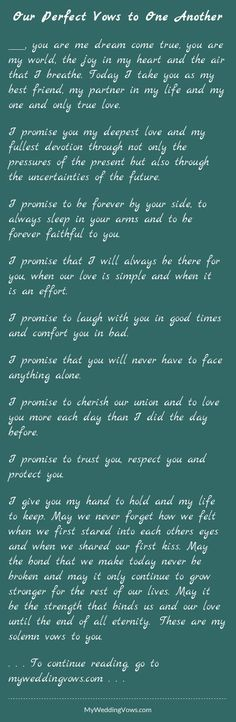 awesome wedding vows best photos